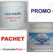 PROMO - Gel ANTICELULITIC Cosmedic si Crema COLAGEN